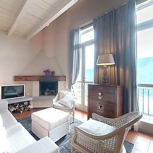 Das Bild zeigt eine Ferienwohnung, Iseosee.